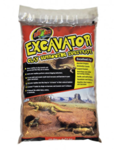 excavator clay substrate