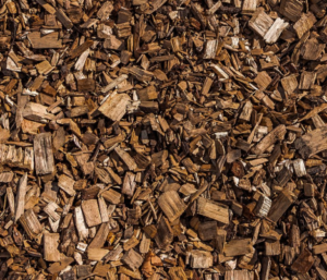 wood chippings substrate